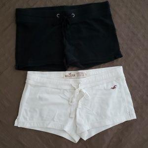 Summer Black and White Shorts